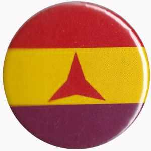 25mm Button: Internationale Brigaden
