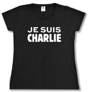 Girlie-Shirt: Je suis Charlie