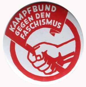 25mm Magnet-Button: Kampfbund gegen den Faschismus