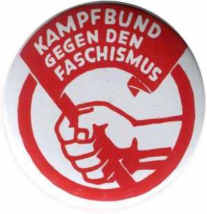50mm Button: Kampfbund gegen den Faschismus