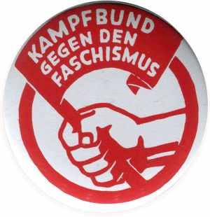 50mm Magnet-Button: Kampfbund gegen den Faschismus