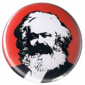 50mm Magnet-Button: Karl Marx