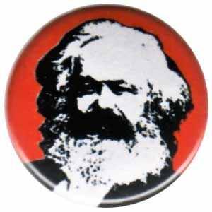 25mm Magnet-Button: Karl Marx