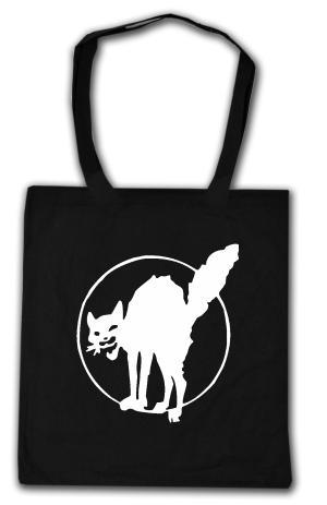 Baumwoll-Tragetasche: Katze