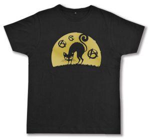 Fairtrade T-Shirt: Katze mit A