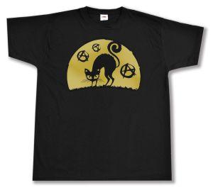 T-Shirt: Katze mit A