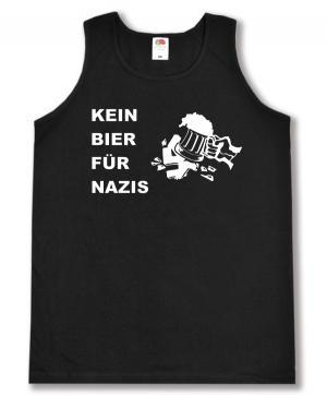 Tanktop: Kein Bier für Nazis
