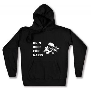 taillierter Kapuzen-Pullover: Kein Bier für Nazis