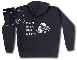 Kapuzen-Jacke: Kein Bier für Nazis