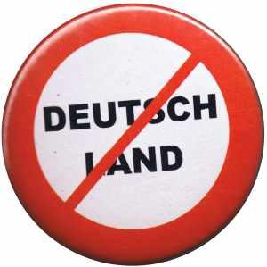 50mm Button: Kein Deutschland