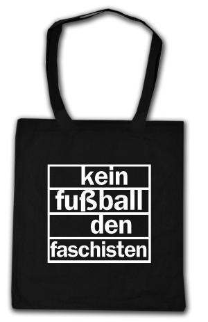 Baumwoll-Tragetasche: Kein Fußball den Faschisten