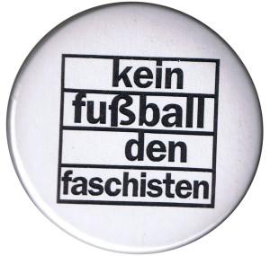 37mm Button: Kein Fußball den Faschisten