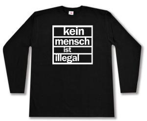 Longsleeve: kein mensch ist illegal