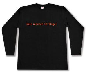Longsleeve: kein mensch ist illegal - Text