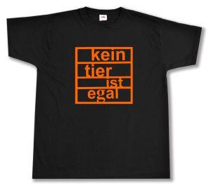 T-Shirt: Kein Tier ist egal