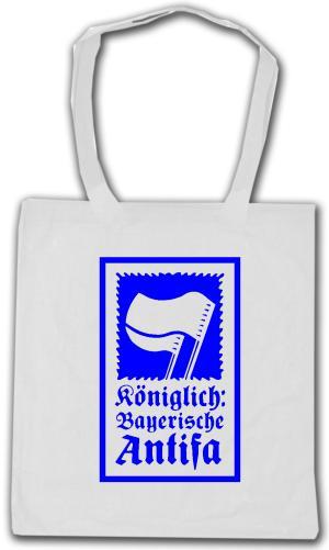 Baumwoll-Tragetasche: Königlich Bayerische Antifa (KBA)