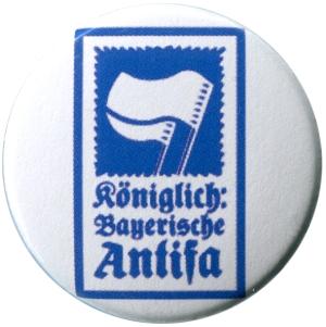 37mm Button: Königlich Bayerische Antifa (KBA)