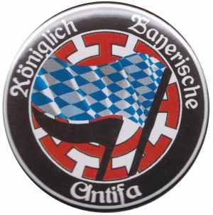 25mm Button: Königlich Bayerische Antifa Mühldorf