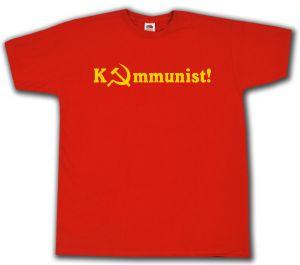 T-Shirt: Kommunist!