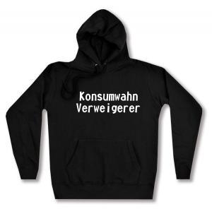 taillierter Kapuzen-Pullover: Konsumwahn Verweigerer