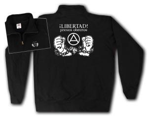 Sweat-Jacket: Libertad presos obreros!