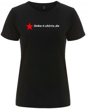 tailliertes Fairtrade T-Shirt: linke-t-shirts.de