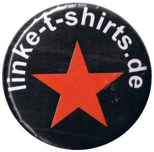 37mm Button: linke-t-shirts.de Stern