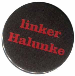 37mm Button: linker Halunke