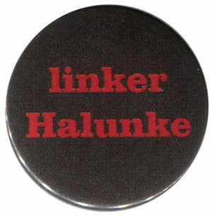 50mm Magnet-Button: linker Halunke