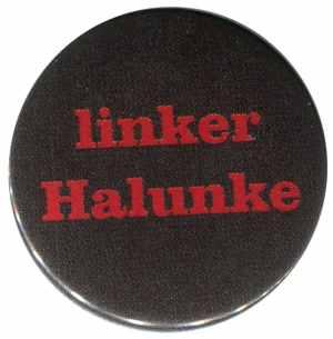 25mm Button: linker Halunke