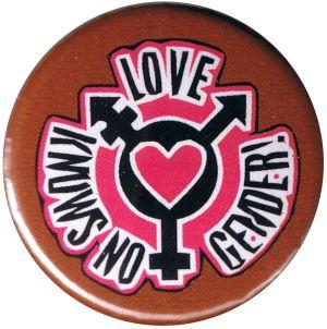 37mm Button: Love knows no gender