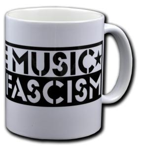 Tasse: Love Music Hate Fascism
