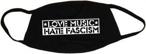 Mundmaske: Love Music Hate Fascism