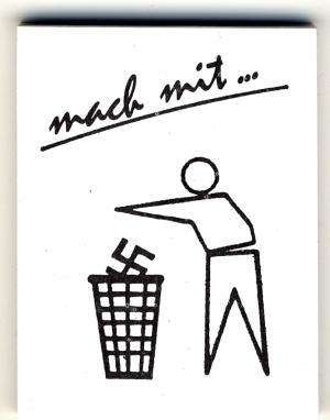 Spucki / Schlecki / Papieraufkleber: Mach mit ...