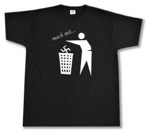 T-Shirt: Mach mit ...