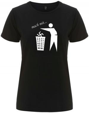tailliertes Fairtrade T-Shirt: Mach mit ...