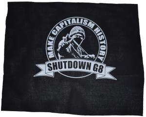 Rückenaufnäher: Make Capitalism History
