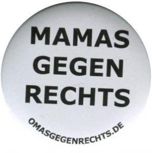 37mm Button: Mamas gegen Rechts