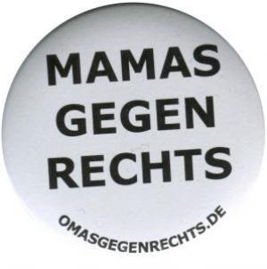 50mm Magnet-Button: Mamas gegen Rechts