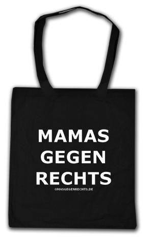 Baumwoll-Tragetasche: Mamas gegen Rechts