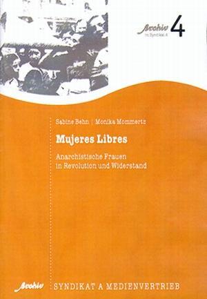 Broschüre: Mujeres Libres