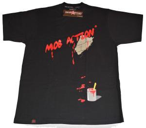 T-Shirt: Mural black