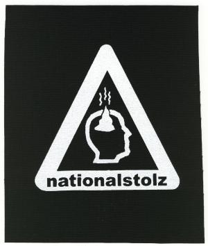 Aufnäher: Nationalstolz