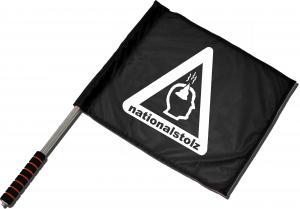 Fahne / Flagge (ca. 40x35cm): Nationalstolz