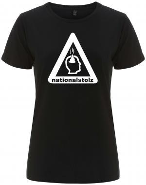 tailliertes Fairtrade T-Shirt: Nationalstolz
