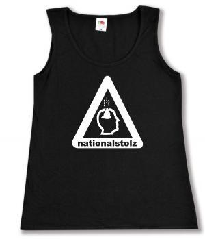 tailliertes Tanktop: Nationalstolz