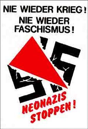 Spucki / Schlecki / Papieraufkleber: Neonazis stoppen!