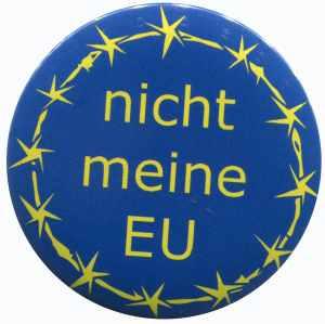 37mm Button: nicht meine EU