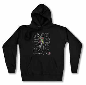 taillierter Kapuzen-Pullover: Niki de Saint Phalle Linksjugend