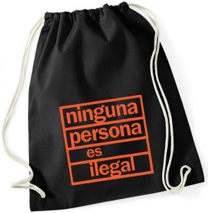 Sportbeutel: ninguna persona es ilegal